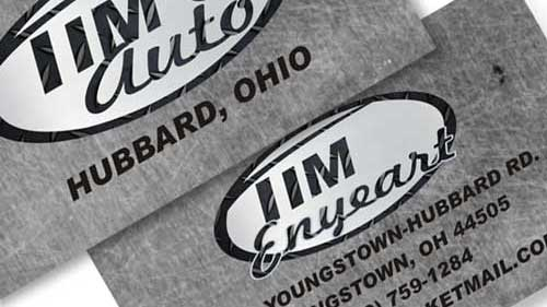 Tim's Auto Business Cards