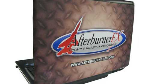 Afterburner FX Laptop Skin