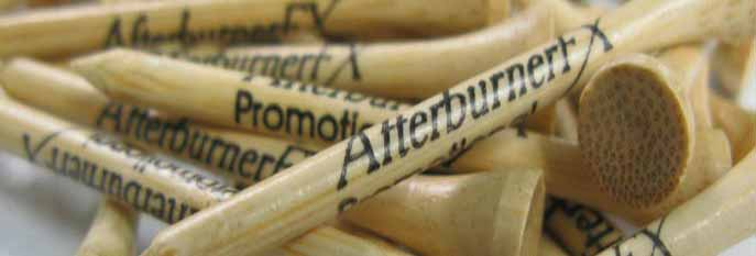 Afterburner FX branded Golf Tees