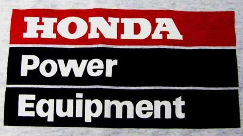 Honda Power Equipment Screenprint