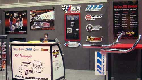 Racepro Auto Show Booth