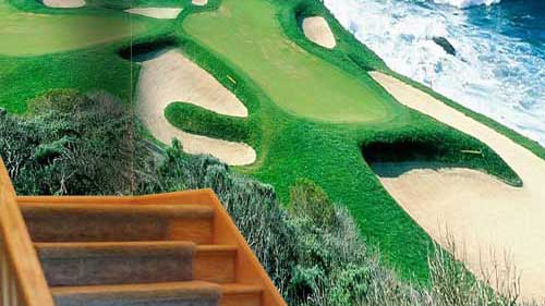 Golf Resort Wall Print